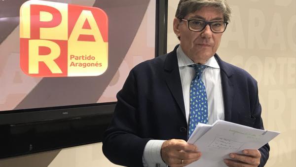 Aliaga (PAR) dice que el problema de la limpieza del Ebro 'es cada vez más grave y acuciante'