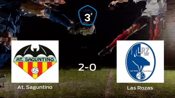 Las Rozas cae derrotado durante el encuentro de ida de los playoff ante el At. Saguntino (2-0)