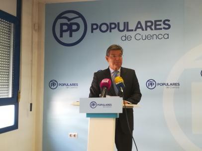 AV.- Catalá dimite como diputado por Cuenca y será sustituido por María Jesús Bonilla