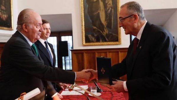 El último acto institucional de Don Juan Carlos