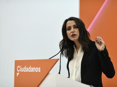 Inés Arrimadas - Archivo