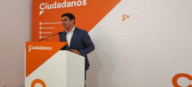 Cádiz.-26M.- Sergio Romero: 'Ciudadanos va a cambiar el panorama en muchos lugares de la provincia'