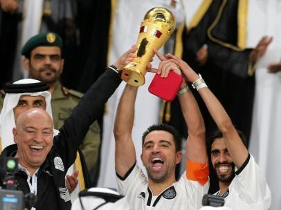 Xavi, jugador y ahora entrenador del Al-Sadd