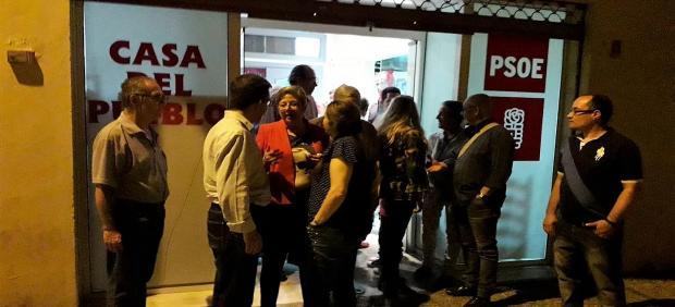 Cádiz.-26M.- La Comisión Ejecutiva Municipal del PSOE de la Línea presenta su dimisión tras los resultados electorales