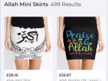 Minifaldas Allah