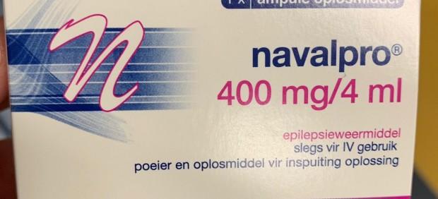 Medicamento distribuido por el Hospital de Getafe