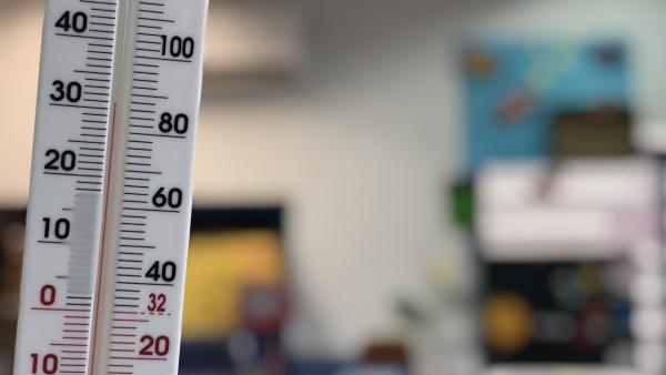 Calor en las aulas de Sevilla