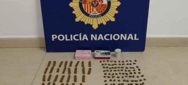 Cádiz.-Sucesos.- Detenido en Sanlúcar un activo vendedor al menudeo de hachís
