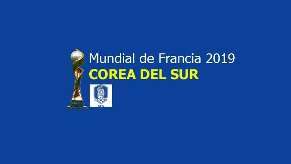 Equipo de Corea del Sur para el Mundial 2019