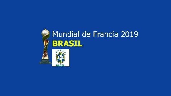 Equipo de Brasil en el Mundial de Francia.