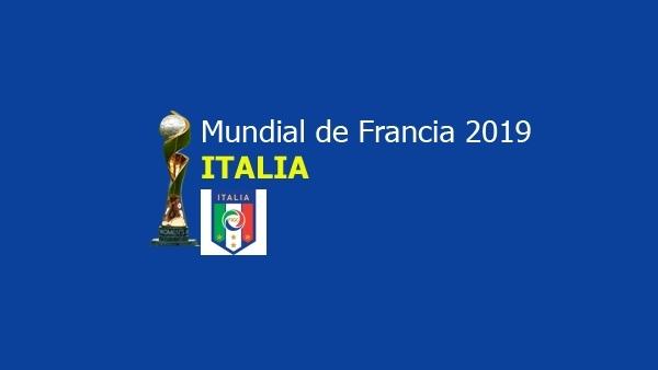 Equipo de Italia para el Mundial de Francia