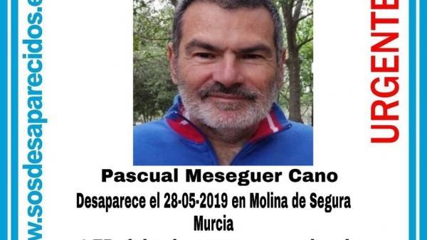 Sucesos.- Buscan a un hombre desaparecido en Molina de Segura