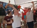 Fans Liverpool cantando