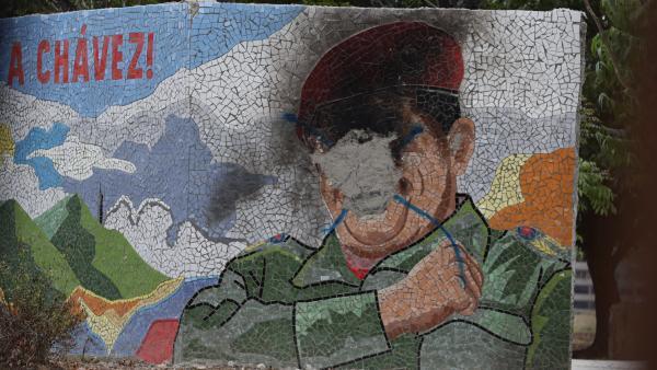 Imagen destruída Chávez