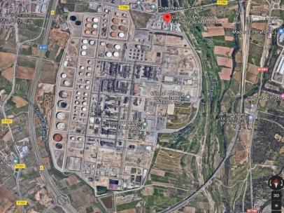 AMP.- Sucesos.- Un herido crítico y otro grave tras una fuga de amoníaco en la Pobla de Mafumet (Tarragona)