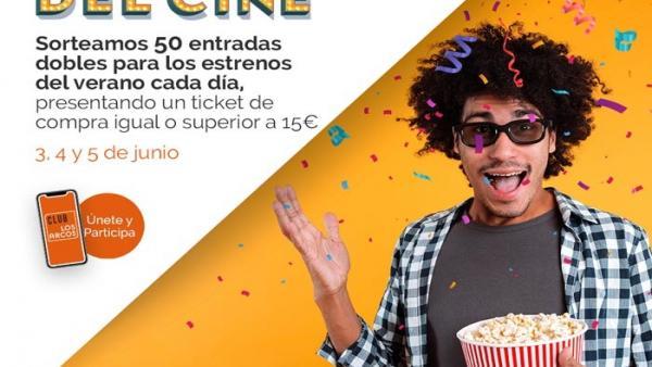Sevilla.- Los Arcos se suma a la XVI fiesta del cine y sortea entradas para los estrenos más esperados