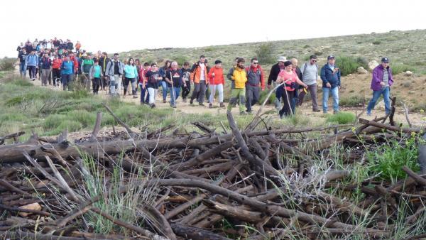 Ejulve organiza este sábado la X andada 'Nuestros montes no se olvidan' para conmemorar el incendio de 2009