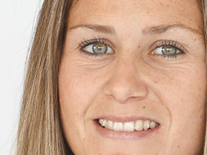 Sandra Paños, portera de la selección femenina de fútbol