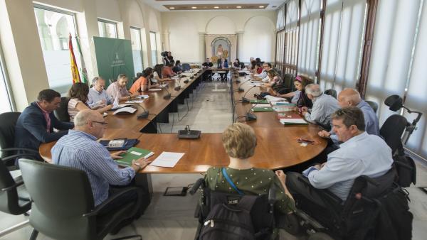 Granada.- La Junta suscribe conciertos con entidades por 22,4 millones para atender a 1.275 discapacitados dependientes