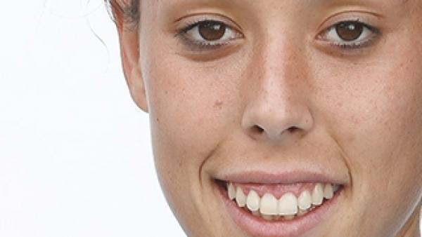 Lola Gallardo, portera de la selección española