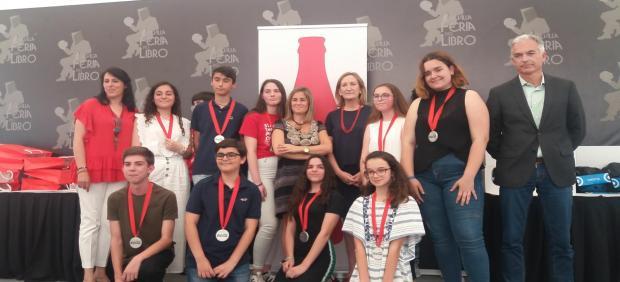 Cádiz.- Jimena Gómez, Lucía Rosado y Antonio Dávila vencen en el Concurso Coca-Cola de Jóvenes Talentos de Relato Corto