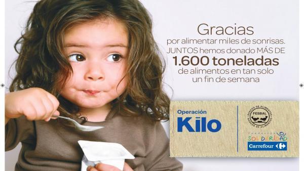 Carrefour y su Fundación donan 95.764 kg de alimentos para familias en emergencia social en la Comunitat Valenciana