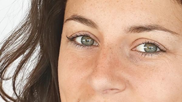 Ivana Andrés, jugadora de la selección española de fútbol