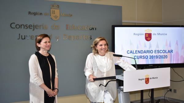 Nota/ El Próximo Curso Comenzará En La Región Entre El 6 Y El 10 De Septiembre Y Finalizará Entre El 19 Y 2 6 De Junio En Los Colegios
