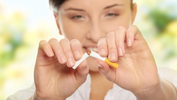 Dejar de fumar.  Abandonar el tabaco.