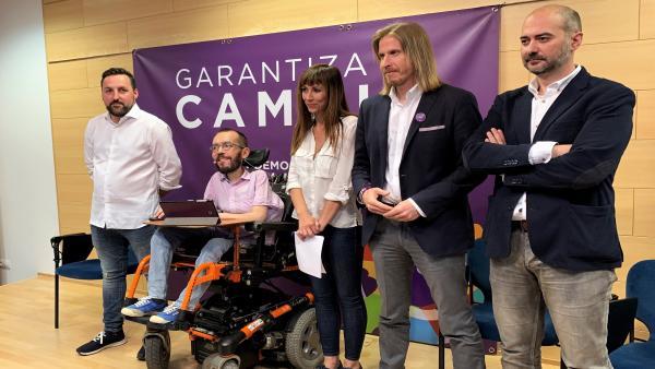 26M.-Fernández recuerda que Podemos no tiene 'mochila' mientras PP, Cs y PSOE se 'van a deber' a quienes les financian