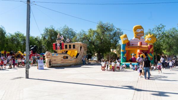 Más de 800 alumnos de nueve colegios han participado en la XIX Fiesta de Educación Vial de Marratxí