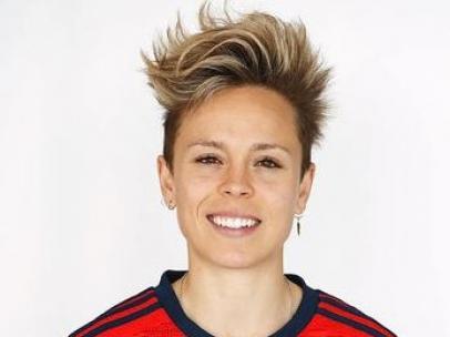 Amanda Sampedro, jugadora de la selección española de fútbol