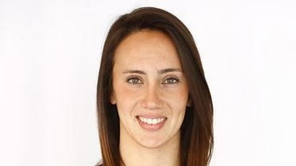 La jugadora de la selección española Virginia Torrecilla