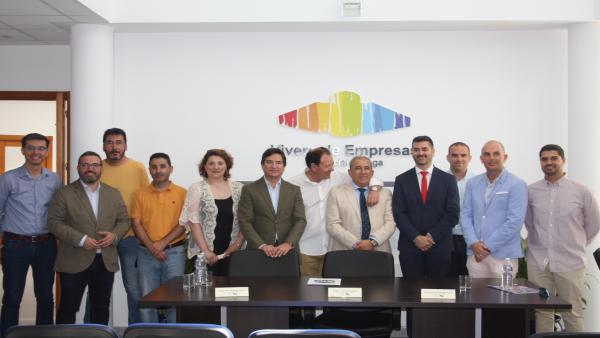 Málaga.- La Diputación destina 78.000 euros a la rehabilitación y mantenimiento del Vivero de Empresas de Humilladero