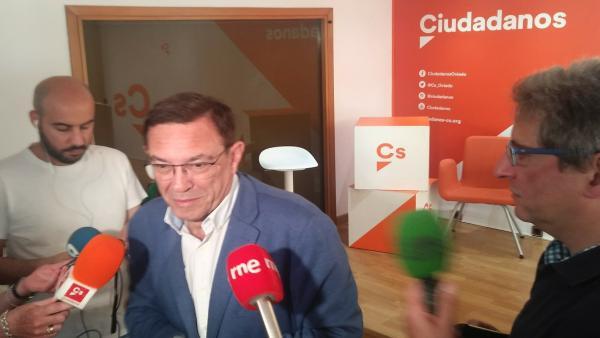 26M.-Vázquez (Cs) Se Alinea Con Valls Y Rechaza Cualquier Posible Pacto Con Vox