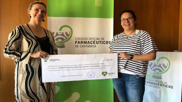 El Colegio de Farmacéuticos dona a Amara Cantabria la recaudación del disco 'Me encanta el cole'