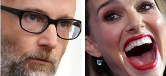 Moby y Natalie Portman