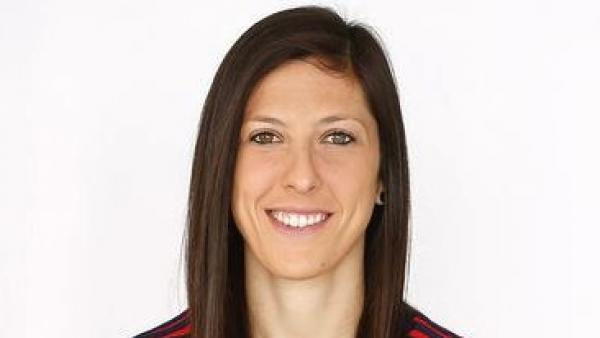 Jennifer Hermoso, jugadora de la selección española de fútbol