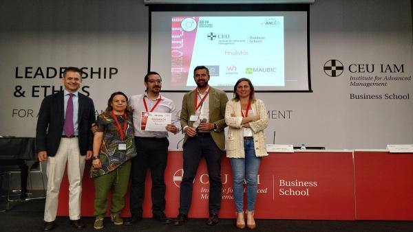 Maubic, empresa acogida en el CEEIAragón, gana un concurso nacional de soluciones tecnológicas