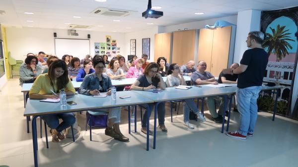 Más de 40 orientadores de centros participan de una jornada en el Instituto de Estudios a Distancia de Baleares