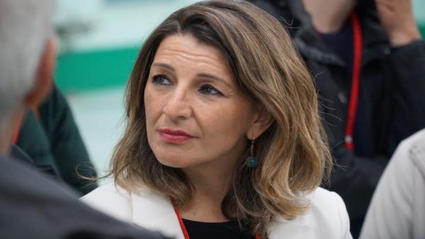 Yolanda Díaz demanda que las administraciones garanticen el mantenimiento de los empleos de la plantilla de Vulcano
