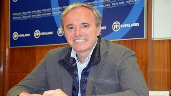 26M.- Azcón (PP) dice que el cambio en Zaragoza es la 'mayoría de centro derecha'