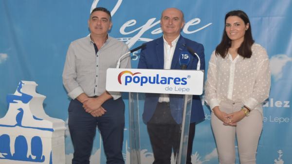 Huelva.- 26M.- El PP de Lepe obtuvo el pasado domingo 'el mejor resultado electoral de su historia'