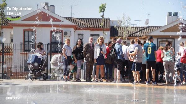 Sevilla.-Inaugurada la segunda fase del parque del castillo de Castilleja de la Cuesta, que invierte medio millón