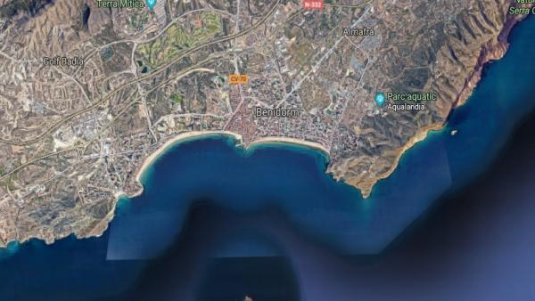 Muere una mujer atropellada por un autobús en Benidorm (Alicante)