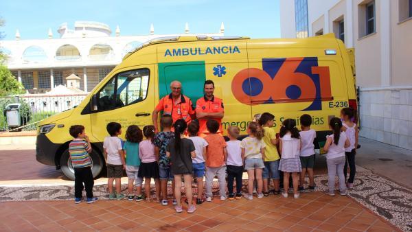 Granada.- Más de 200 escolares de entre 3 y 5 años aprenden cómo actuar ante un emergencia