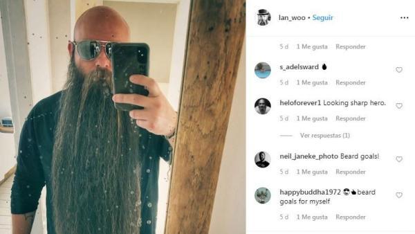 Lance Wooton, cuarta barba más larga del mundo