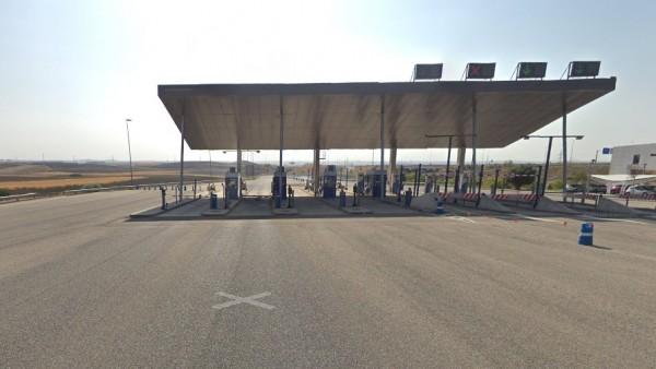 Imagen del peaje de Illescas en la autopista AP-41.