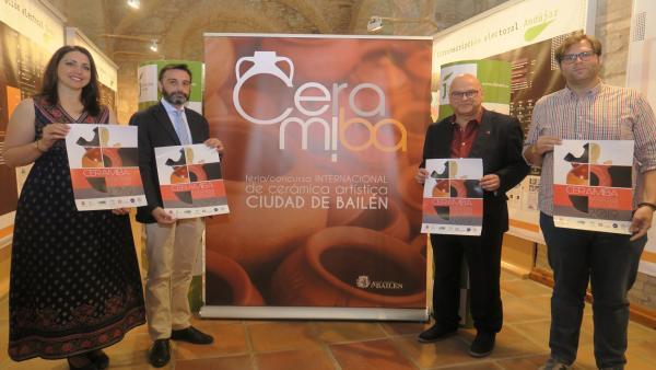 Jaén.- MásJaén.- La artesanía cerámica tradicional y de vanguardia se cita en Bailén con la cuarta edición de Ceramiba