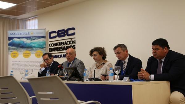 Cádiz.- El Clúster Marítimo Marino de Andalucía analiza las experiencias desarrolladas en materia de energías renovables